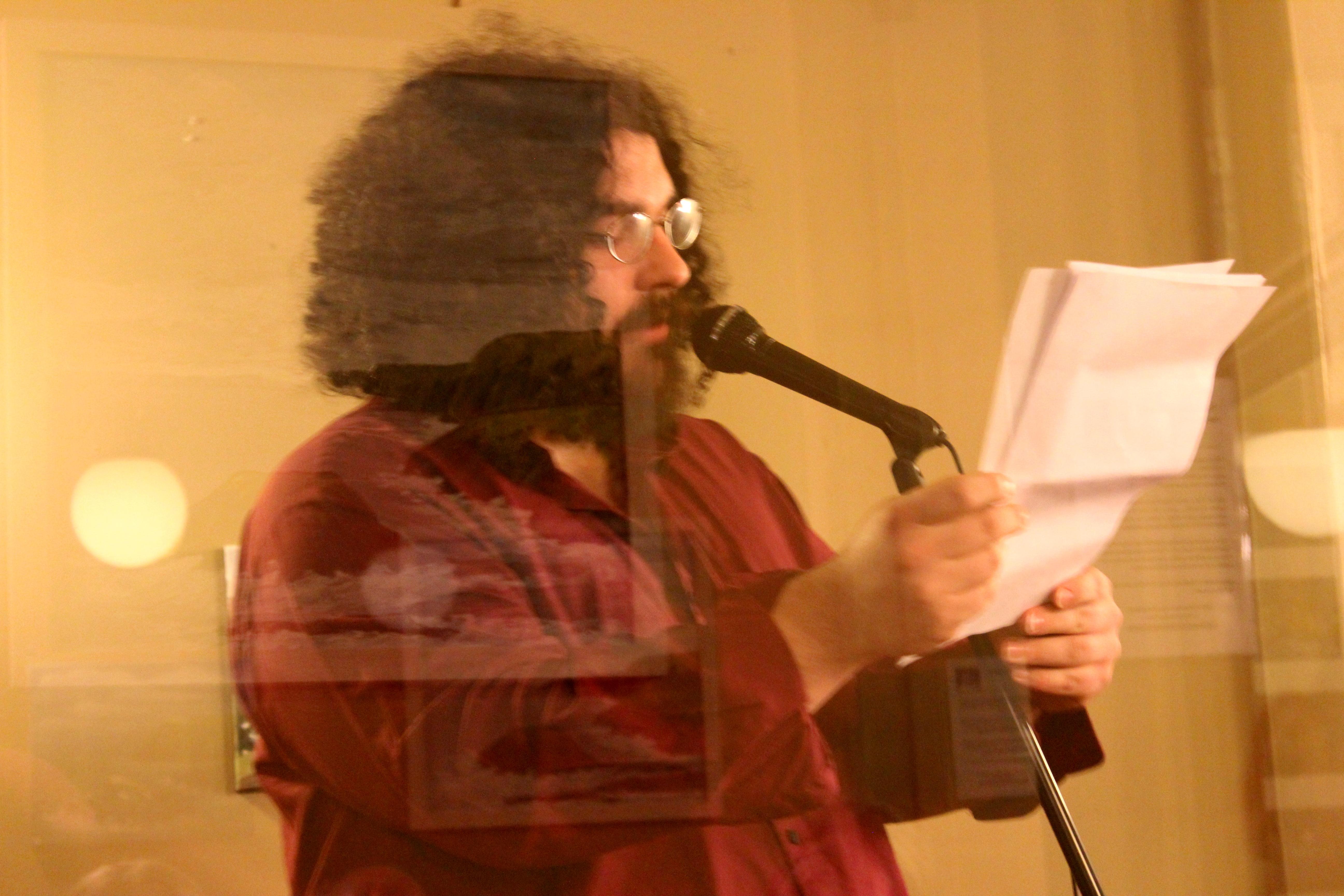 Two Men Crowd Poem 57