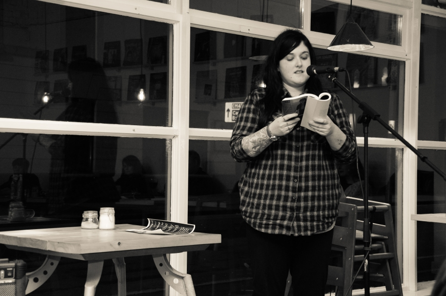 Rhian Elizabeth reading 'Lido di Venezia' from our Winter issue